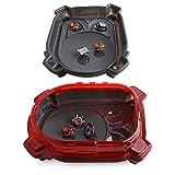 Stade de gyroscope Burst Evolution pour jeux à faire soi-même - Pour enfants de 3 ans et plus (Rouge)