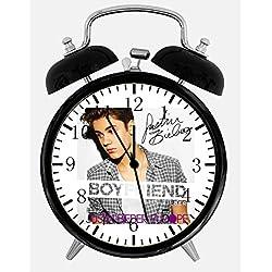 Ikea New Justin Bieber Alarm Desk Clock 3.75 Room Decor W456 Will Be a Nice Gift