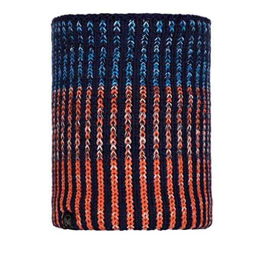 Buff Iver - Cubrecuello de punto para hombre, color azul medieval, talla única