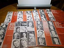 Je connais une blonde (Maurice Chevalier) / Le fiacre (Odette Laure) / Frou frou (Catherine Maisse) / Viens Poupoule (Andrex) ...
