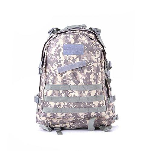 lokep extérieur résistant et extensible 40 3D Militaire Sac à dos tactique Molle sac à dos tactique Lot pour chasse randonnée école voyage randonnée camping moyen Color1