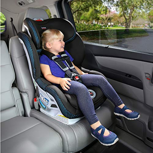 Britax Boulevard ClickTight Convertible Car Seat - 2 Layer Impact Protection - Rear and Forward Facing - 5 to 65 Pounds, Circa