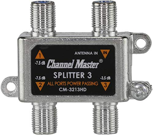 channel master signal splitter - 3