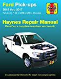 Ford Full-size F-150 2WD & 4WD Pick-ups (15-17) Haynes Repair Manual (Does not include F-250 or Super Duty models. Includes thorough vehicle coverage ... specific exclusion noted) (Haynes Automotive)