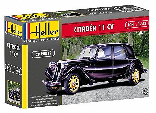 Heller - 80159 - Construction Et Maquettes - Citroen 11 Cv - Echelle 1/43ème