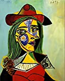 FSKJSZYH Frameless DIY Colorings Malen Nach Zahlen Picasso S Berühmte Abstrakte Gemälde Bilder...