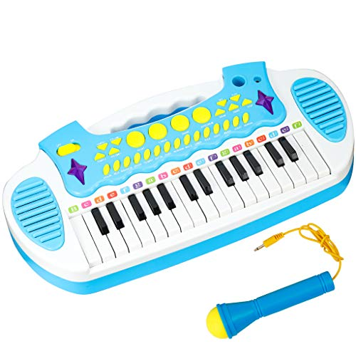 Conomus Piano Keyboard Toy for Age 2 3 4 Year Old Girls...