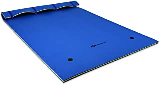 Goplus Floating Water Pad for Water Recreation and Relaxing, Tear-Resistant XPE Foam Floating Mat for Pool, Beach, Ocean, Lake
