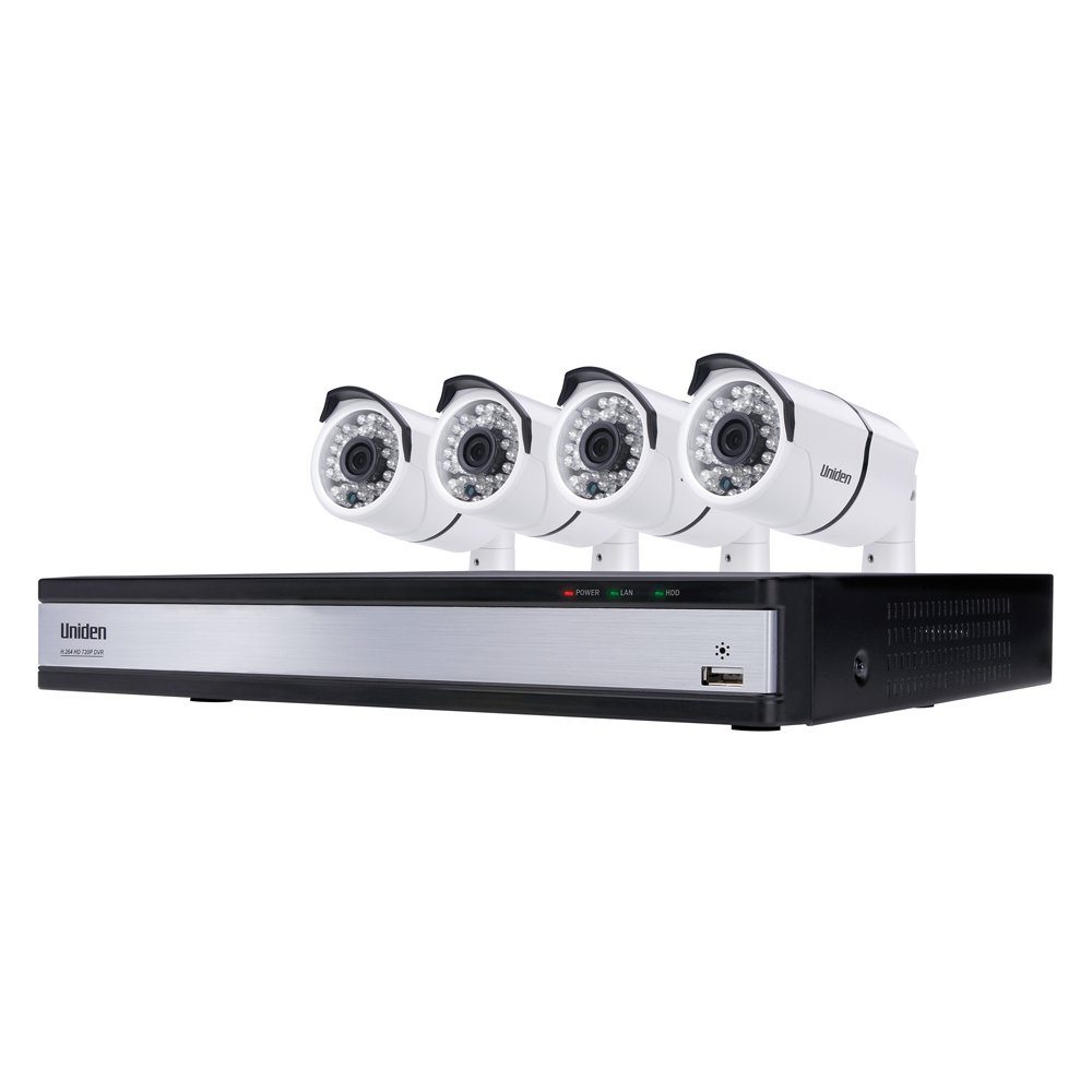 Uniden UDVR45x4 Security System Channel