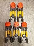 NERF N Strike Vulcan EBF-25 Blaster Automatic Gun Tripod Stand (Includes 5 tripods)