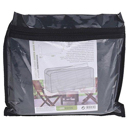 Pro Garden Housse de protection pour coussin de jardin - 130 x 50 x 32 cm