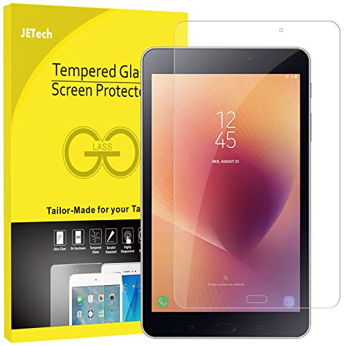 JETech Screen Protector for Galaxy Tab A 8.0-Inch 2017 (SM-T380), Tempered Glass Film