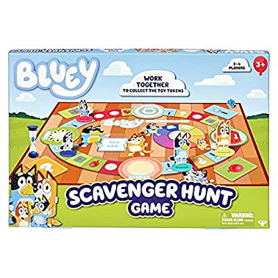 Bluey Scavenger Hunt Game, Multicolor (17144) from Moose Toys