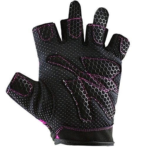 Lady-Gym-Fitnesshandschuh , Damen , Frauen S Pink (verschiedene Farben) - 4
