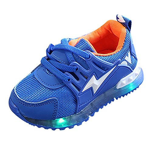 Buy Discount Shoes for Girls Boys Tennis Athletic Sneaker Led Light Luminous Casual Sport for Runnin...