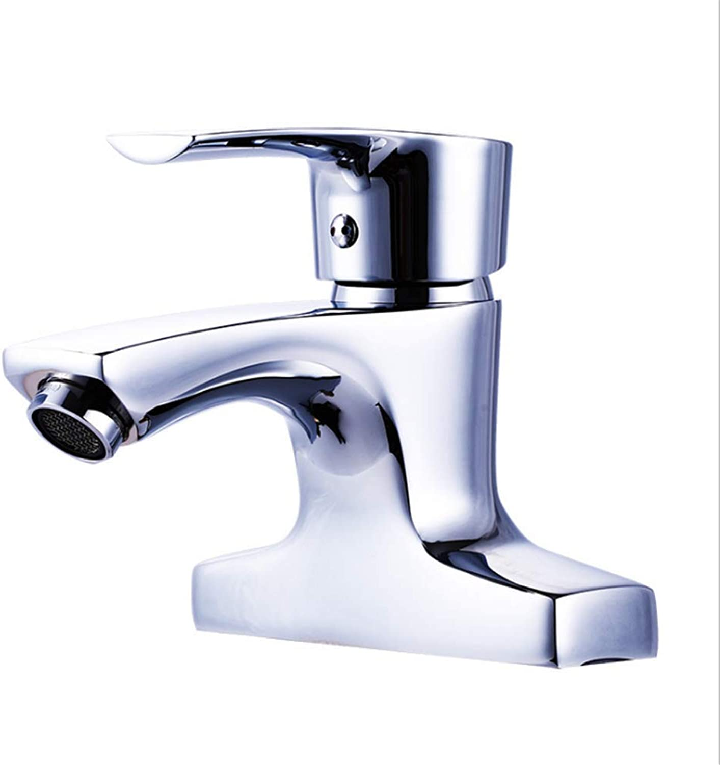 Counter Drinking Designer Archbathroom Copper Basin Cold and Hot Water Faucet Washbasin Mixing Valve