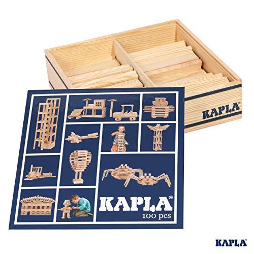 Kapla 100er Box Original Holz Bausteine Plättchen Klötze - 3