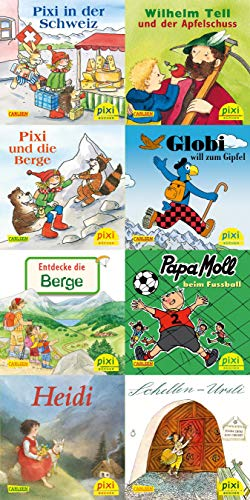 Pixi-Box 262: Pixi besucht die Schweiz (8x8 Exemplare) (262)
