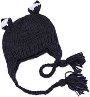 Frühling Herbst Baby Kleinkind Bowknot Weiche Pleuche Hut Mütze Beanie Headwear