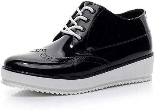 NgMik botas De Agua Lluvia Impermeables Al Aire Libre botas de Lluvia al Aire Libre de Invierno Adultos botas de Tubo Corto para mujer zapatos Aides Aides zapatos Antideslizantes de Agua