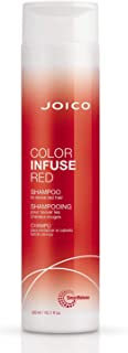 Joico Joico Color Infuse Red Shampoo Instantly Refresh Red Tones & Enhance Red Highlights Boost Color Vibrancy & Add Shine...