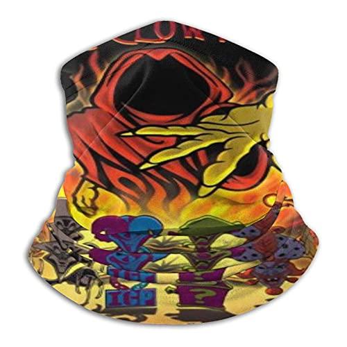 asdew987 Insane Clown Posse - Braga de microfibra para hombre y mujer, cubrebocas elásticas, media máscara, bufanda de tubo versátil, bandana para la cabeza