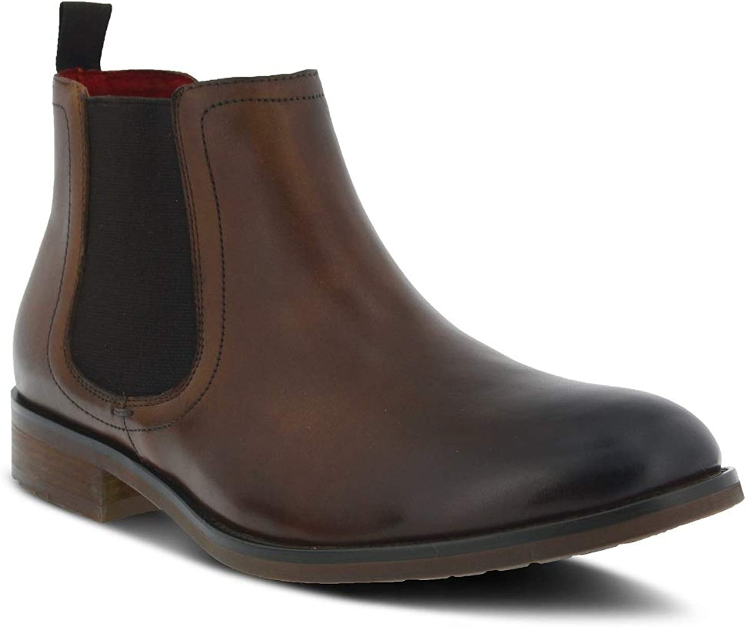 Spring Step Men Brennan Boots   color Brown   Leather Boots