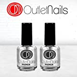 Outlet Nails 2 Primer da 15ml / senza acidi, ideale per le unghie, French Manicure