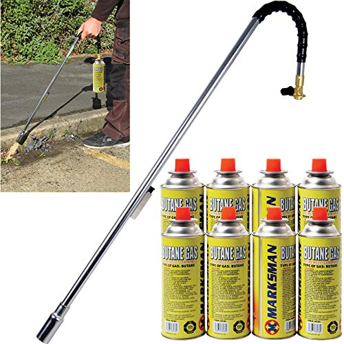 BARGAINS-GALORE Burner Killer Butane Gas BLOWTORCH Garden Outdoor Moss...