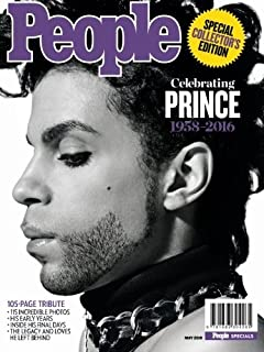 Celebrating Prince: 1958-2016: Special Collectors Edition by People Magazine (2016-05-06)