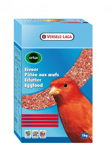 Versel Laga Pâtée sèche oeufs pour canaris rouges