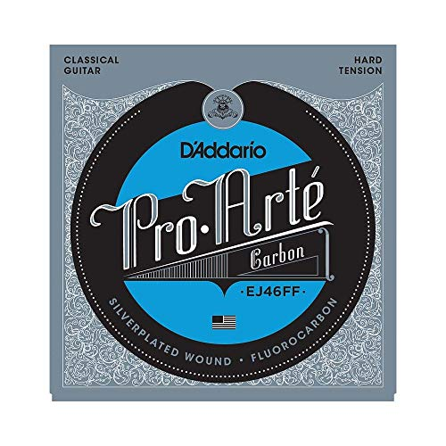 D'Addario EJ46FF Pro Arte Dynacore Basses Hard Tension Carbon Classical...
