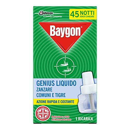 Baygon Genius Liquido Ricarica Anizanzare, 27ml