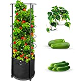Outland Living Large Tomato Planter with Metal Trellis 68 Inch, 20...