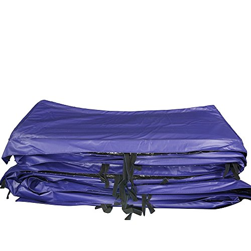S.W. 13ft x 13ft Trampoline Pad with Rounded Corners - Blue - Fits SWSAS1300 and SWTCS1300