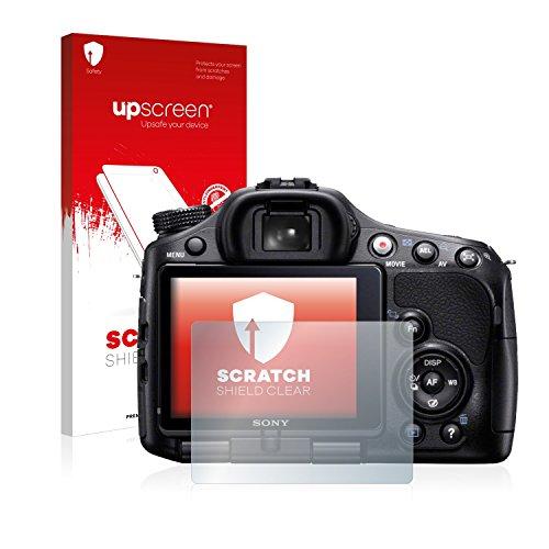 upscreen Protector Pantalla Compatible con Sony Alpha 65V (SLT-A65V) Película Protectora –...
