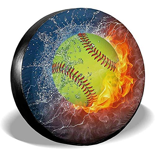 N/A Copertura Ruota di scorta Ruota di Fuoco Softball Potabile Poliestere Universale Impermeabile Antipolvere Protezione Solare Misura Universale