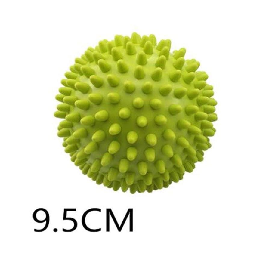 適用済み黒可愛いとげのボール - グリーン