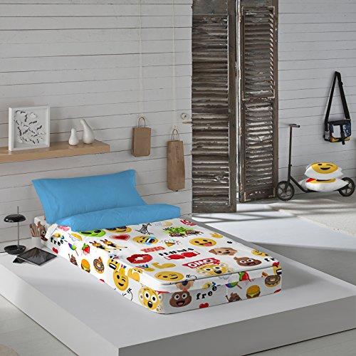 Emoji Party - Saco nórdico cama 90 cm relleno