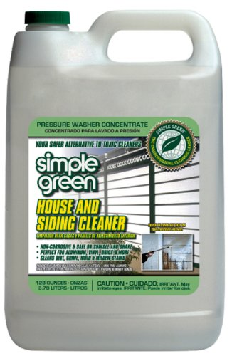 Simple Green 18201 House and Siding Cleaner, 1 Gallon Bottle