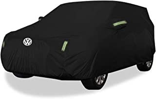 KTYXDE Cover SUV Thick Oxford Cloth Sun Protection Rainproof Warm Car Cover Car Cover (Size : Oxford Cloth - Built-in lint)