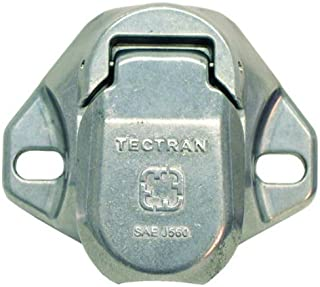 Tectran 670-28 Vertical Dual Pole Plug (Socket Tarp Systems Connector, Vertical socket assembly with 4 6 gauge terminals i...