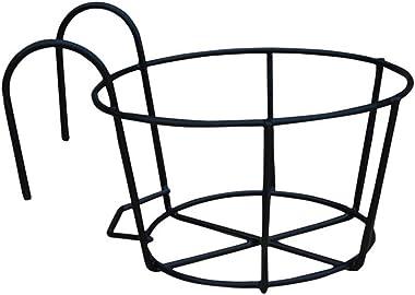 æ— Support de pot de fleurs à suspendre, supports de pots de fleurs, supports de pots de fleurs, support en métal pour clôtur