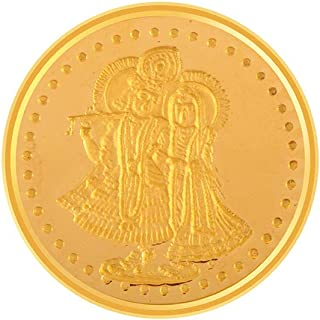 P.C. Chandra Jewellers 24k (995) 10 gm Yellow Gold Coin