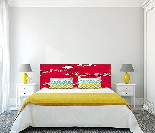 Cabecero Cama PVC Impresión Digital Japones Multicolor 150 x 60 cm | Disponible en Varias Medidas | Cabecero Ligero, Elegante, Resistente y Económico