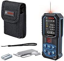 Bosch Professional Laser-Entfernungsmesser GLM 50-27 C + Gürtelclip (Reichweite: bis 50 m, robust, IP65,...