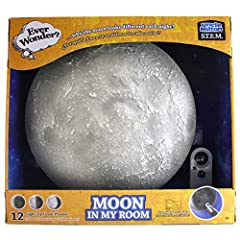 The Moon comes to life in your room with soft light and authentic detail, while you learn about lunar phases! Use the remote control to click through the waxing and waning lunar phases Science learning poster provides learning activities, fun facts a...