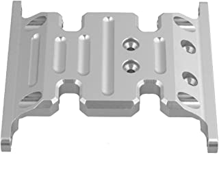 Mxfans Silver Upgrade Accessory AX80026 Center Skid Plate AXIAL SCX10 Electric 4WD RC1:10 Model Car