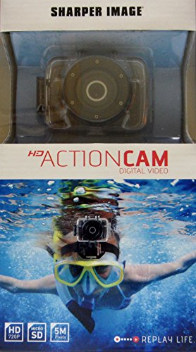SVC355 Hd Action Camera with Waterproof Case by Sharper Image