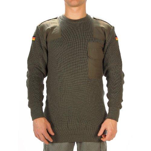Mil-Tec Bundeswehr Pullover Schurwolle Oliv, Größe:50